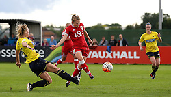 Millie Farrow of Bristol City Women scores the opening goal against Oxford United Women - Mandatory by-line: Robbie Stephenson/JMP - 25/06/2016 - FOOTBALL - Stoke Gifford Stadium - Bristol, England - Bristol City Women v Oxford United Women - FA Women's Super League 2