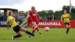 Millie Farrow of Bristol City Women scores the opening goal against Oxford United Women - Mandatory by-line: Robbie Stephenson/JMP - 25/06/2016 - FOOTBALL - Stoke Gifford Stadium - Bristol, England - Bristol City Women v Oxford United Women - FA Women's Super League 2