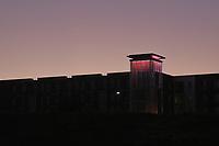 Dawn at Wolf Ridge on Centennial Campus.