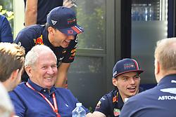 March 16, 2019 - Melbourne, Australia - Motorsports: FIA Formula One World Championship 2019, Grand Prix of Australia, ..Dr. Helmut Marko (AUT, Aston Martin Red Bull Racing), #10 Pierre Gasly (FRA, Aston Martin Red Bull Racing), #33 Max Verstappen (NLD, Aston Martin Red Bull Racing) (Credit Image: © Hoch Zwei via ZUMA Wire)
