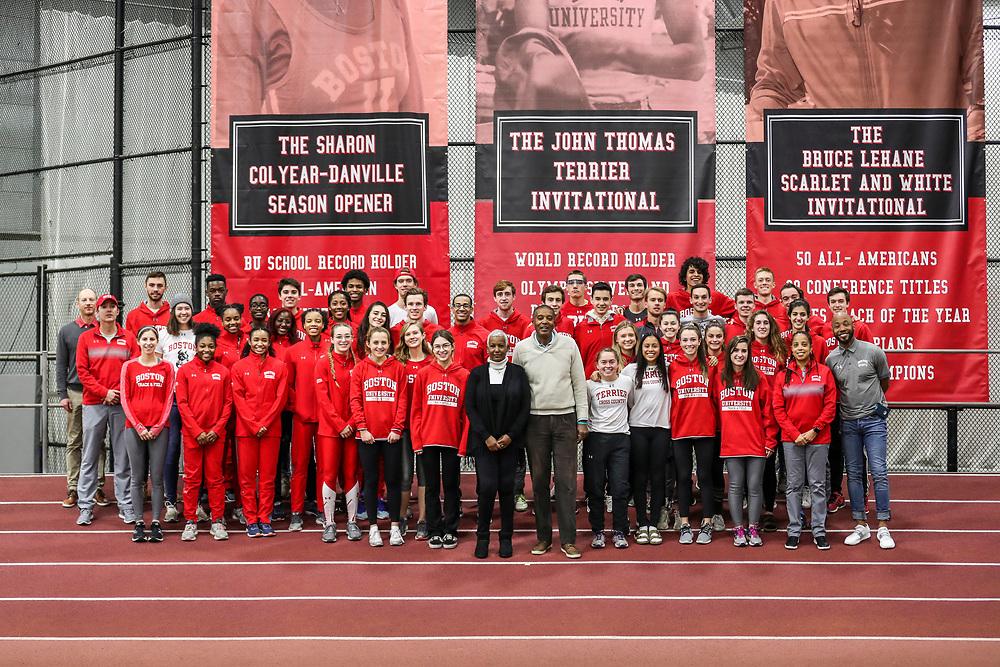 Boston University Sharon Colyear-Danville Season Opener Indoor Track and Field Meet