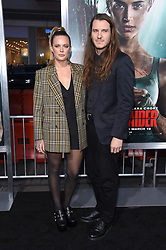 """Alicia Vikander at the U.S. premiere of """"Tomb Raider"""" held at the TCL Chinese Theatre IMAX on March 12, 2018 in Hollywood, CA. 12 Mar 2018 Pictured: Tove Lo. Photo credit: O'Connor/AFF-USA.com / MEGA TheMegaAgency.com +1 888 505 6342"""
