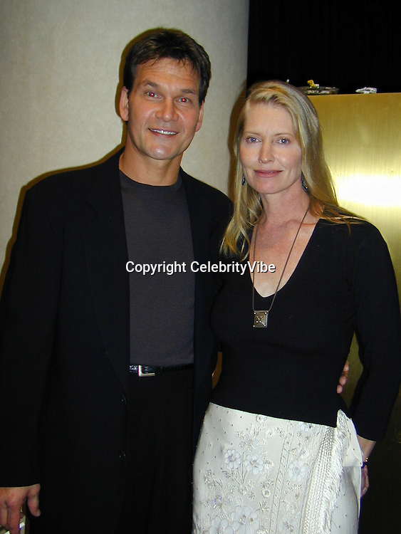Patrick Swayze &amp; Wife Lisa                           Whitney Houston's All-Star Gala for<br />