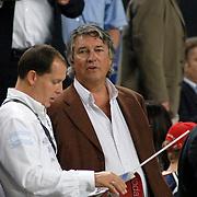 NLD/Amsterdam/20060928 - Voetbal, Uefa Cup voorronde 2006, Ajax - IK Start, Ron Brandsteder op de tribune