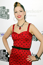 © Licensed to London News Pictures. 27/01/2014, UK. Imelda May, The South Bank Sky Arts Awards, Dorchester Hotel, London UK, 27 January 2014. Photo credit : Richard Goldschmidt/Piqtured/LNP