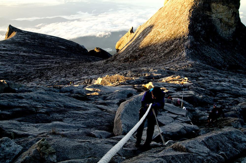 Mt. Kinabalu, Malaysia Mountain Climbing.