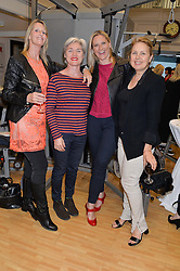 Left to right, KAREN WELLMAN, SIOBHAN McKEATING, ZANA MORRIS and DENNY HALL at the launch of 'Your Hormone Doctor' a book by Leah Hardy, Susie Rogers and Dr Daniel Sister held at The Library, 206-208 Kensington Park Road, London W11 on 8thMay 2014.