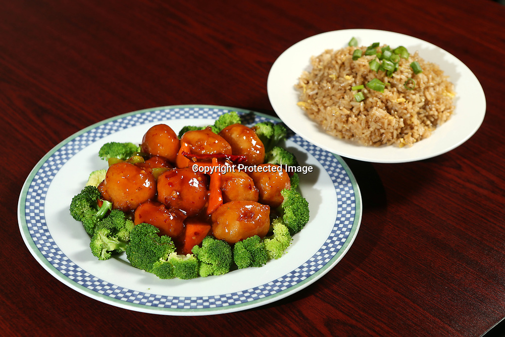General Tso's Chicken and Fried Rice