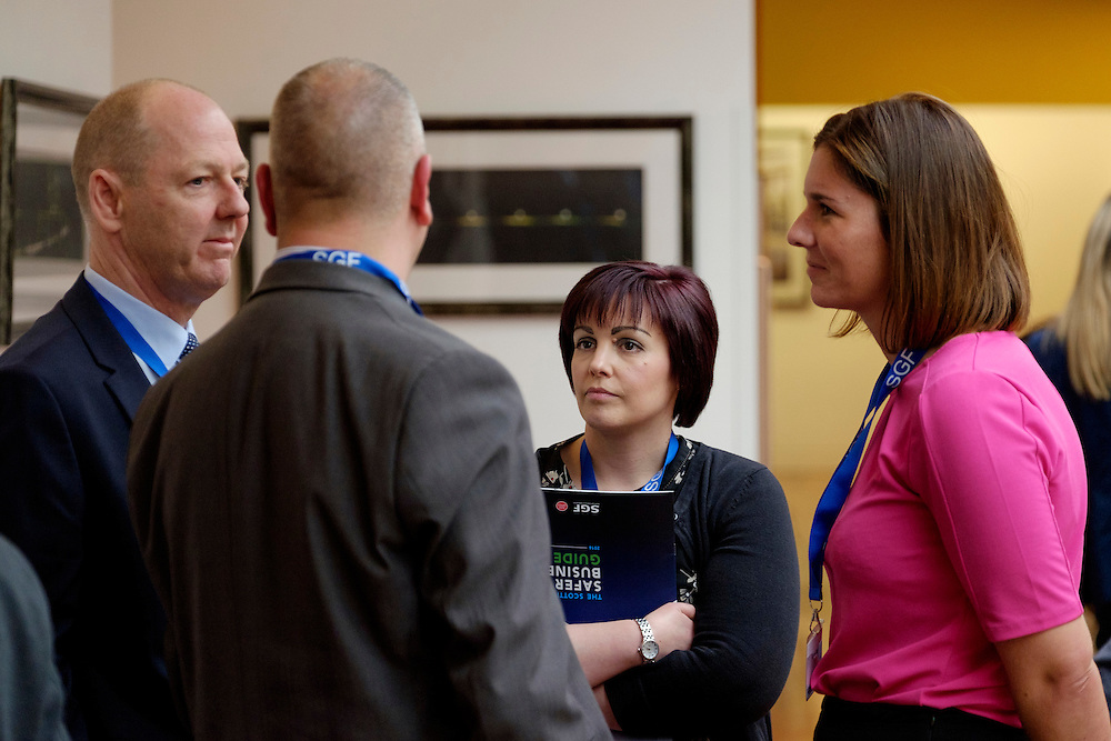 SGF seminar about crime and fraud held at RBS, Edinburgh.<br /> <br /> Photograph by Mike Wilkinson...16/2/16<br />  <br /> Copyright photograph by Mike Wilkinson.<br /> No reproduction or archiving of this image without consent from Mike Wilkinson and payment to him. Contact Mike on 07768 393673 mike@mike-wilkinson.com www.mike-wilkinson.com http://mike-wilkinson.photoshelter.com