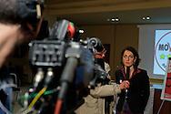 Roma 26 Febbraio 2013.Il MoVimento 5 Stelle presenta alla stampa  Carla Ruocco, eletta alla Camera dei  Deputati