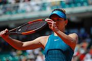 Simona HALEP (ROU) during the Roland Garros French Tennis Open 2018, day 12, on June 7, 2018, at the Roland Garros Stadium in Paris, France - Photo Stephane Allaman / ProSportsImages / DPPI