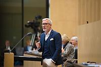 DEU, Deutschland, Germany, Berlin,22.09.2017: Der Chef der Thüringer Staatskanzlei und Minister für Kultur, Benjamin Immanuel Hoff (Die Linke), bei einer Rede im Bundesrat.