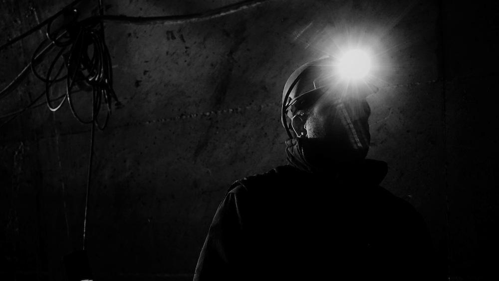 The workers go underground