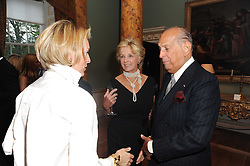 A party to promote the exclusive Puntacana Resort & Club - the Caribbean's Premier Golf & Beach Resort Destination, was held at Spencer House, London on 13th May 2010.<br /> <br /> Picture shows:- DIANA HARARI and OSCAR DE LA RENTA