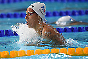Fantine Lessafrel (FRA) competes on Women's 200 m Medley semifinal during the Swimming European Championships Glasgow 2018, at Tollcross International Swimming Centre, in Glasgow, Great Britain, Day 6, on August 7, 2018 - Photo Stephane Kempinaire / KMSP / ProSportsImages / DPPI