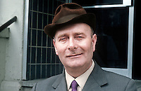 Alderman Tom Newell, member, Craigavon Council, N Ireland, candidate, N Ireland Labour Party, N Ireland Assembly Election,  June 1973. 197306000479b<br /> <br /> Copyright Image from Victor Patterson, 54 Dorchester Park, Belfast, UK, BT9 6RJ<br /> <br /> t1: +44 28 9066 1296 (from Rep of Ireland 048 9066 1296)<br /> t2: +44 28 9002 2446 (from Rep of Ireland 048 9002 2446)<br /> m: +44 7802 353836<br /> <br /> e1: victorpatterson@me.com<br /> e2: victorpatterson@gmail.com<br /> <br /> The use of my copyright images is subject to my Terms & Conditions.<br /> <br /> It is IMPORTANT that you familiarise yourself with them. They are available on my website at www.victorpatterson.com.<br /> <br /> None of my copyright images may be used on a website or on television unless they are visibly watermarked, i.e. © Victor Patterson within the body of the visible image. Also the image metadata of images used on the Internet must not be removed. <br /> <br /> Copyright acknowledgment of my images used in print is a condition of use.<br /> <br /> Failure to observe the above conditions will incur a penalty of at least 100% of the agreed fee. <br /> <br /> Web use (maximum size - 400 kb) is extra at currently recommended NUJ rates.
