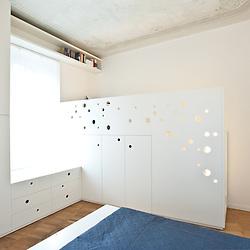 Casa a due altezze. Designers: Francesca Ristuccia and Cristian Catania