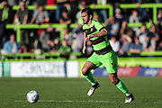 Forest Green Rovers Gavin Gunning(16) runs forward during the EFL Sky Bet League 2 match between Forest Green Rovers and Cheltenham Town at the New Lawn, Forest Green, United Kingdom on 20 October 2018.