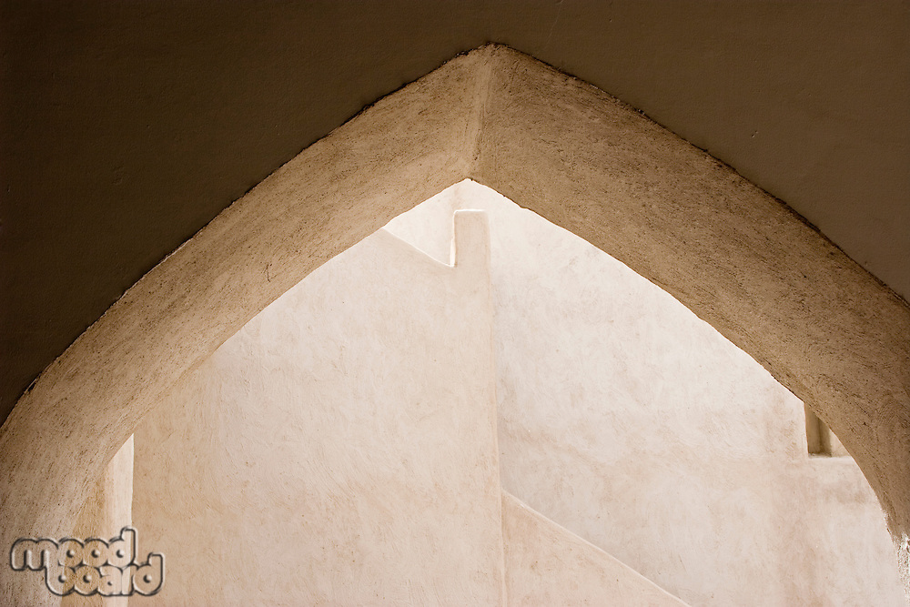 Dubai UAE Architectural detail of Sheikh Saeed al-Maktoum House