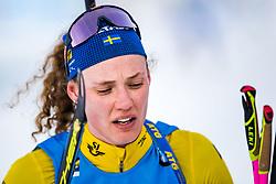 March 10, 2019 - –Stersund, Sweden - 190310 Hanna Öberg of Sweden looks dejected after the Women's 10 km Pursuit during the IBU World Championships Biathlon on March 10, 2019 in Östersund..Photo: Petter Arvidson / BILDBYRÃ…N / kod PA / 92254 (Credit Image: © Petter Arvidson/Bildbyran via ZUMA Press)