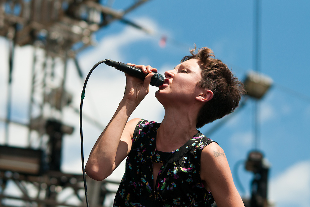 Polica at Lollapalooza