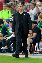October 6, 2017 - Orlando, Florida, USA - United States coach Bruce Arena during a World Cup qualifying game against Panama at Orlando City Stadium on Oct. 6, 2017 in Orlando, Florida. The US won 4-0....ZUMA Press/Scott A. Miller (Credit Image: © Scott A. Miller via ZUMA Wire)