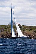 Nashira II sailing in the Dubois Cup regatta, day 1.