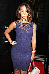 © Licensed to London News Pictures. 29/08/2013. LONDON. Amelle Berrabah, Lipsy Glam - Fragrance Launch, The Cumberland Hotel, London UK, 29 August 2013. Photo credit : Brett D. Cove/Piqtured/LNP