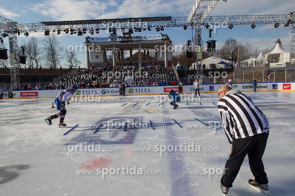 Red Bull Crashed Ice Qualifications during Winter Classic games Telemach IceFest 2013 by HDD Olimpija, on January 6, 2013 in Stadium Bezigrad, Ljubljana, Slovenia. (Photo By Matic Klansek Velej / Sportida.com)