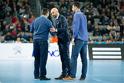during handball match between PPD Zagreb (CRO) and Paris Saint-Germain (FRA) in 11th Round of Group Phase of EHF Champions League 2015/16, on February 10, 2016 in Arena Zagreb, Zagreb, Croatia. Photo by Urban Urbanc / Sportida