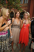 Jane Sharpe, Chantal Wilkins and Laura Sharpe, The Biba Ball in aid of CLIC Sargent. Victoria & Albert Museum, London. 11 May 2006.ONE TIME USE ONLY - DO NOT ARCHIVE  © Copyright Photograph by Dafydd Jones 66 Stockwell Park Rd. London SW9 0DA Tel 020 7733 0108 www.dafjones.com