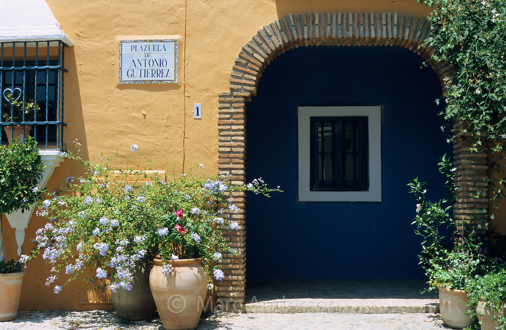 La Heredia, a beautiful village in Andalucia, Spain