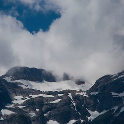Peaks and Clouds, Ross Lake National Recreation Area, North Cascades National Park, US