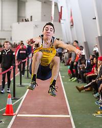 Boston University John Terrier Classic Indoor Track & Field: mens long jump, Merrimack, Braga