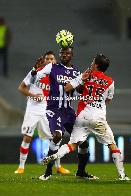 Tongo Doumbia - 05.12.2014 - Toulouse / Monaco - 17eme journee de Ligue 1 -<br />Photo : Manuel Blondeau / Icon Sport