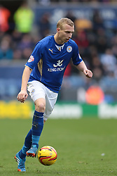 Leicester City's Ritchie De Laet - Photo mandatory by-line: Nigel Pitts-Drake/JMP - Tel: Mobile: 07966 386802 14/12/2013 - SPORT - Football - Leicester - King Power Stadium - Leicester City v Burnley - Sky Bet Championship
