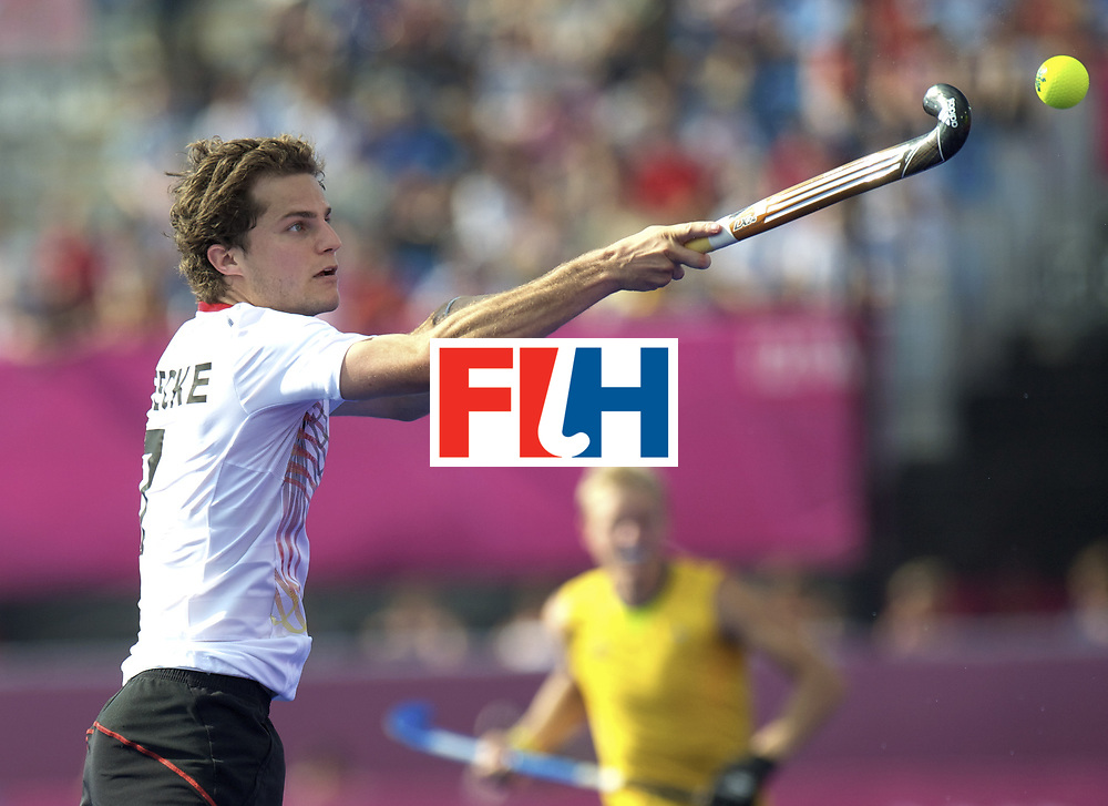 LONDON - Olympische Spelen 2012.men .Semi Final.Australia v Germany.foto: Oskar Deecke .FFU PRESS AGENCY COPYRIGHT FRANK UIJLENBROEK.