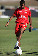 Rahul Dravid  during the Royal Challengers Bangalore training session held at Kingsmead Stadium in Durban on the 23 September 2010..Photo by: Steve Haag/SPORTZPICS/CLT20.