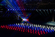07.02.2014. Sochi, Krasnodar Krai, Russia.   Scenes during the Opening Ceremony of the XXII Olympic Winter Games at the Fisht Olympic Stadium