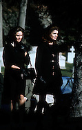 .Jackie Kennedy at the funeral of Joseph Kennedy in November of 1969....Photo by Dennis brack B 6