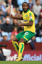 Cameron Jerome of Norwich City - Mandatory by-line: Paul Roberts/JMP - 19/08/2017 - FOOTBALL - Villa Park - Birmingham, England - Aston Villa v Norwich City - Sky Bet Championship