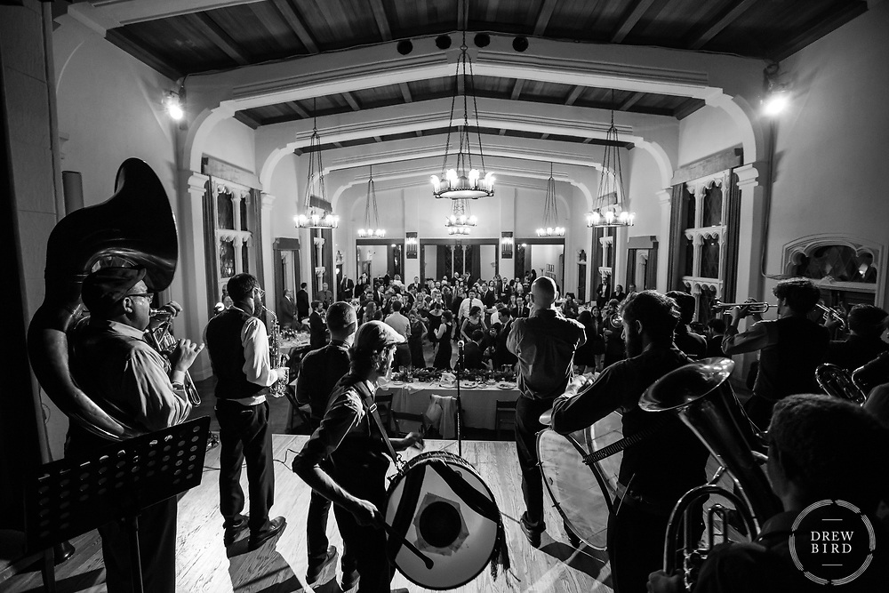 Brass Band.  Berkeley City Club. <br /> <br /> Drew Bird Photography<br /> San Francisco Bay Area Photographer<br /> Have Camera. Will Travel. <br /> <br /> www.drewbirdphoto.com<br /> drew@drewbirdphoto.com