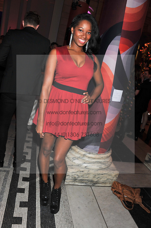 JAMELIA at the 50th birthday party for Jonathan Shalit held at the V&A Museum, London on 17th April 2012.