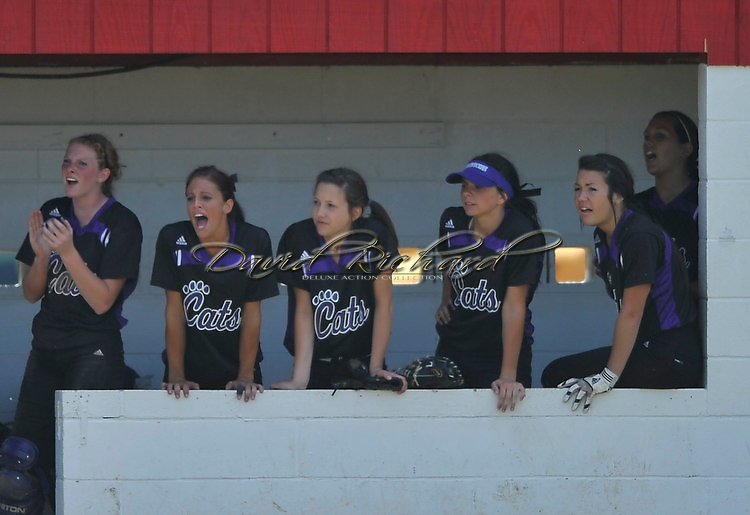 The Keystone softball team defeated Hebron Lakewood 5-4 in a regional final game on May 28, 2011 at Bucyrus high school.