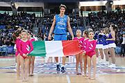 DESCRIZIONE : Pesaro Edison All Star Game 2012<br /> GIOCATORE : Achille Polonara<br /> CATEGORIA : before presentazione<br /> SQUADRA : Italia Nazionale Maschile<br /> EVENTO : All Star Game 2012<br /> GARA : Italia All Star Team<br /> DATA : 11/03/2012 <br /> SPORT : Pallacanestro<br /> AUTORE : Agenzia Ciamillo-Castoria/C.De Massis<br /> Galleria : FIP Nazionali 2012<br /> Fotonotizia : Pesaro Edison All Star Game 2012<br /> Predefinita :