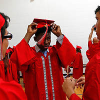 Graduation ceremony for the West Lafayette High School Class of 2016 on Friday, May 27, 2016.<br /> <br /> Nate Chute   Photographer
