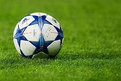 Ball during football match between GNK Dinamo Zagreb, CRO and Arsenal FC, ENG in Group F of Group Stage of UEFA Champions League 2015/16, on September 16, 2015 in Stadium Maksimir, Zagreb, Croatia. Photo by Urban Urbanc / Sportida