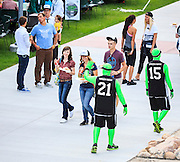 President Matthew S. Holland and others speak to incoming freshman students in the UCCU Center at the annual Freshman Convocation, Monday August 25, 2014, Utah Valley University (Nathaniel Ray Edwards, UVU Marketing)