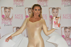 "© Licensed to London News Pictures. 21/09/2016. KATIE PRICE launches her new autobiography book ""Reborn' at Worx studio's. London, UK. Photo credit: Ray Tang/LNP"