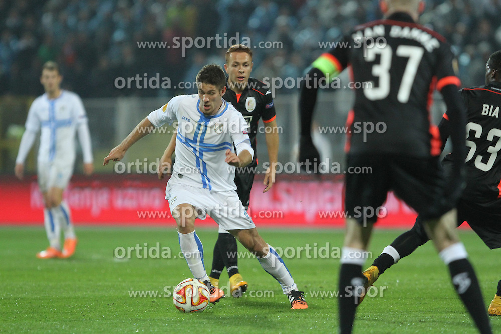 27.11.2014, Stadium Kantrida, Rijeka, CRO, UEFA EL, HNK Rijeka vs FC Standard Liege, Gruppe G, im Bild Andrej Kramaric // during the UEFA Europa Lduring the UEFA Europa League group G match between HNK Rijeka and FC Standard Liege at the Stadium Kantrida in Rijeka, Croatia on 2014/11/27. EXPA Pictures © 2014, PhotoCredit: EXPA/ Pixsell/ Nel Pavletic<br /> <br /> *****ATTENTION - for AUT, SLO, SUI, SWE, ITA, FRA only*****